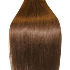 18 inch Medium Brown Full Head Hair Extension