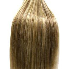 18 inch Blonde Mix Full Head Clip Hair Extensions