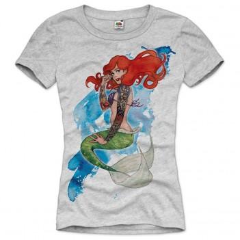 Ariel Mermaid Tattoo