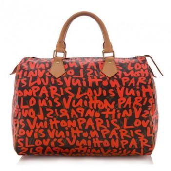Louis Vuitton Limited Edition Graffiti Satchel