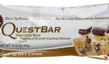 Quest Protein Bar- Chocolate chip Cookie Dough Flavour